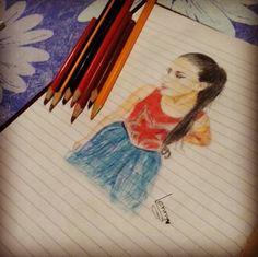 Alba Rico new drawing :) @AlbaRicoNavarro   #violetta #KCAMÉXICO