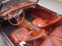 1957 Austin Healey 100-6: Interior 1 View