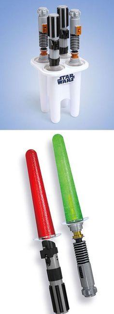 Star wars Popsicle mold @Sarah McDonald Sebaly , @Karlie Riess Munro Elizabeth-Schmiege  summertime must?