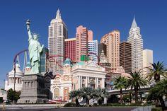 New York New York em Las Vegas #turismo #viagem #lasvegas