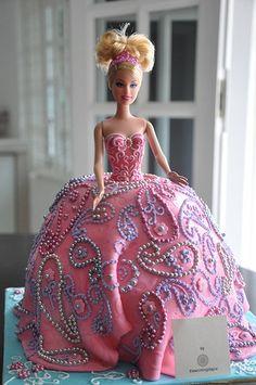 Barbie Cakes Are So Popular Now For Girls Birthday Parties - Birthday cake doll princess