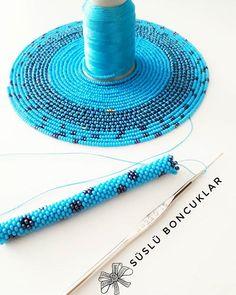 Beaded Bracelets Tutorial, Bead Loom Bracelets, Beaded Wrap Bracelets, Seed Bead Patterns, Beaded Jewelry Patterns, Bead Jewelry, Jewellery, Crochet Beaded Necklace, Bead Crochet Rope