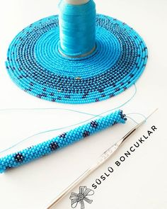 Crochet Beaded Necklace, Bead Crochet Rope, Crochet Bracelet, Seed Bead Patterns, Beaded Jewelry Patterns, Beading Patterns, Bead Jewelry, Jewellery, Micro Macramé