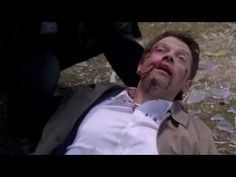 10x03 Castiel and Hannah are attacked by another angel - YouTube