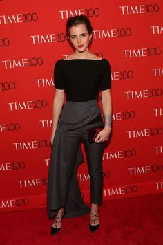 Pin for Later: She Wore THAT? 25 Then-and-Now Style Pics From Your Favorite It Girls Emma Watson