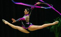Rhythmic Gymnastics= Ballet on steroids