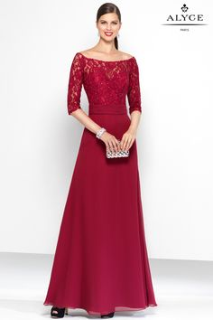 The Hottest Dress Designer hands down! Alyce Paris.  Check out their dresses at alyceparis.com Black Label | Dress Style #5807 #http://pinterest.com/alyceparis