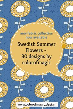 Fabric by the yard – new designs now available at my Spoonflower shop. Click on the picture to learn more! Fabric Shop, Custom Fabric, Surface Pattern, Surface Design, Fabric Design, Pattern Design, New Surface, Modern Fabric, Summer Flowers