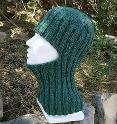 Knitting in Color - free pattern Easy Balaclava