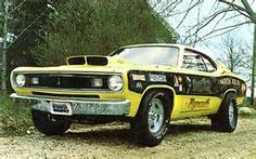 Vintage Drag Racing - Pro Stock - Plymouth Duster