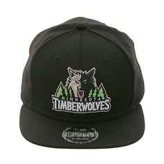 a5894dab92711 New Era 9Fifty Minnesota Timberwolves Snapback Hat - Black
