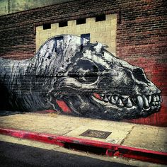 Artist: ROA. Photographer: Rachel Escoto, Pixelina Photography. Photo Copyright: ALL RIGHTS RESERVED.