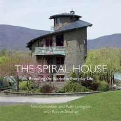 Upward Spiral - Upstate House Upstate House Landscape Walls, Landscape Design, Sacred Architecture, Fantasy Places, Spiritual Practices, Inspirational Books, Patterns In Nature, Livingston, Traditional House