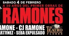 http://ift.tt/2hWBGwB http://ift.tt/2hEY7KL  A exactos 30 años de aquel histórico primer show de Los Ramones en Argentina RICHIE RAMONE baterista en dicho show debut y único miembro sobreviviente de aquella formación encabezará un festejo único este Sábado 4 de Febrero de 2017 en Teatro Flores de Capital Federal. Por primera vez en la historia se presentara en un mismo escenario junto a CJ RAMONE bajista de la banda en todos sus demás shows en nuestro país desde 1991 en adelante. Argentina y…