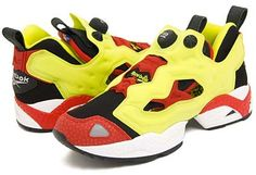 Reebok REEBOK PUMP FURY [BLACK/FIRECRACKER RED/YELLOW]
