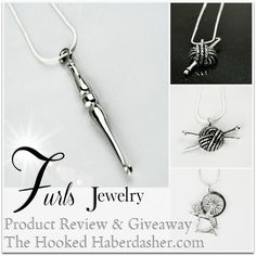 Have you seen the beautiful Pewter Pendant Jewelry line at Furls Crochet? I've had my eye on their Crochet Hook Pendant for over a year, and now I have one! As with all Furls products, the Fiberart...