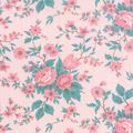 KINDRED SPIRITS FLORAL FABRIC-Pink Fabrics-Fabric