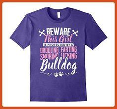 d44f99a9 Mens Best Bulldog Mom Ever - Bulldog Gifts Tee Shirt Purple - Relatives and family  shirts (*Partner-Link)