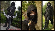 La cosplayeuse Mathilde de l'Atelier de Vamps en Garrett de Thief IV. Découvrez sa page : https://www.facebook.com/LatelierDeVamps
