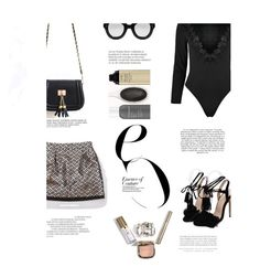 """""""Mini skirt"""" by stellina-from-the-italian-glam ❤ liked on Polyvore featuring Kerr® and Anja"""