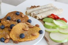 Pannekaker med gulrot og kanel