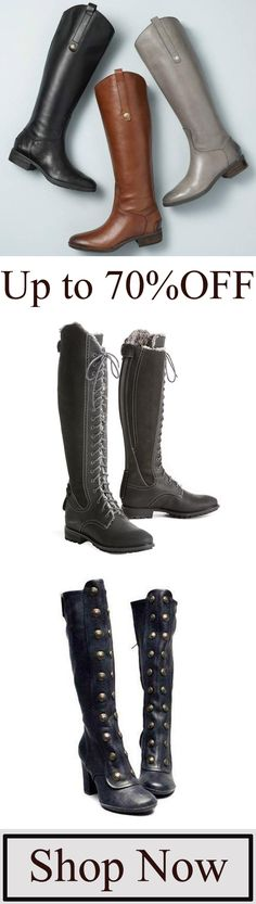 Women's High Boots Collection Get$5OFF, Over$69, Coupon Code:TOPIA5