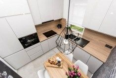 Modern kitchens may be efficiently kitted out and look seamlessly well designed with nice materials fixtures and Bauhaus Design, Scandinavian Kitchen, Cool House Designs, Decoration, Kitchen Design, House Plans, Sweet Home, New Homes, Design Inspiration