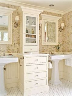 55 Brilliant Ideas For Cottage Style Bathroom Design