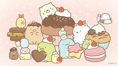 Cute Food Drawings, Cute Animal Drawings Kawaii, Cute Kawaii Animals, Kawaii Drawings, Kawaii Doodles, Kawaii Art, Cute Cartoon Wallpapers, Cartoon Pics, Cute Images