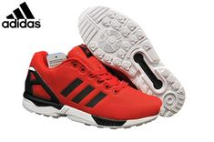 580aa96ae Men s Women s adidas Originals ZX Flux Shoes Red Black White M21327