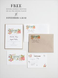 Wedding Invitations By Wedding Chicks - The Audrey Suite