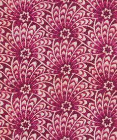 Liberty Fabric Capello Shell Cotton Linen in Poppy Liberty Art Fabrics, Liberty Print, Cotton Linen, Printed Cotton, Textile Design, Fabric Design, Printed Cushions, Fabric Sofa, Linen Fabric
