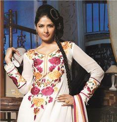 Bollywood Salwar Kameez Indian Embroidery Designer Suit Traditional Salwar Suit | eBay