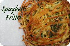 All Roads Lead to the Kitchen: Spaghetti Fritters (frittelle di spaghetti)