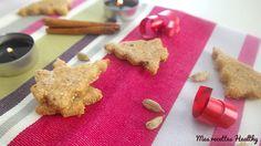 Recette de biscuit aux épices de Noel sans beurre ni sucre raffiné à la cardamome et cannelle.Facile et rapide à réaliser avec données nutritionnelles.
