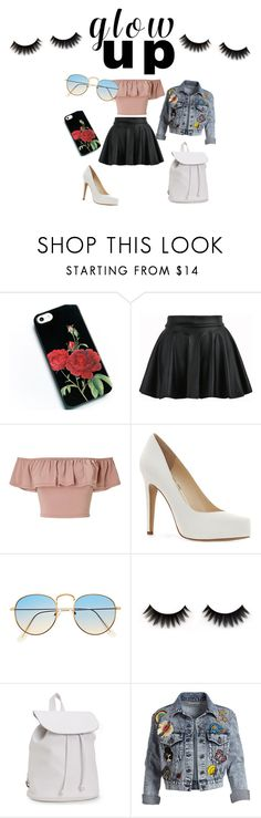 """Glow up outfit"" by skataewwvas on Polyvore featuring Miss Selfridge, Jessica Simpson, Aéropostale and Alice + Olivia"