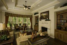 Living Room. #DTH #DreamHome  Looks like the El Campo floorplan we chose