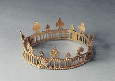 Germany, 1450 This is the Coronet that I want if I am ever made a Baroness in the SCA. Renaissance Jewelry, Medieval Jewelry, Ancient Jewelry, Victorian Jewelry, Antique Jewelry, Vintage Jewelry, Wiccan Jewelry, Royal Crowns, Royal Tiaras