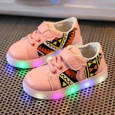 a04e196ddd6 Kids Sneakers LED Luminous Child Toddler Casual Colorful Light Shoes kids  boys girls drop shipping -