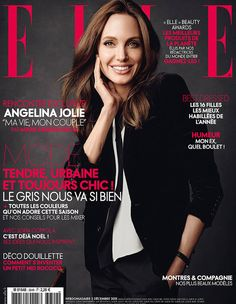 Angelina Jolie for ELLE France December 2015 cover