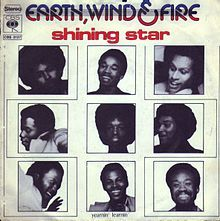 "Shining Star"" is a 1975 song by Earth, Wind & Fire from their album That's the Way of the World. The song was written by Maurice White, Larry Dunn and Philip Bailey and produced by White. ""Shining Star"" was Earth, Wind & Fire's first major hit, hitting No. 1 on both the U.S. Hot 100 and R&B charts"