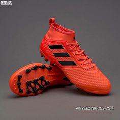 374da760f0ff Adidas Ace 17.3 AG    BY2195 Orange Black Red Super Deals