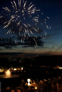 Fireworks Show at Versailles by Paris in Four Months, via Flickr