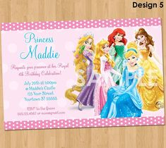Disney Princess Birthday Invitations Are You Looking For Ideas A Party Tea Evokes Thoughts Of Fantasy Each Subject