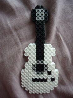 Perler Guitar by PerlerHime - Kandi Photos on Kandi Patterns