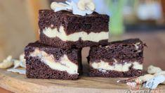 Kakaová buchta s tvarohem - snadnejidlo Kakao Brownies, Thing 1, Healthy Desserts, Tiramisu, Oreo, Tart, Cheesecake, Food And Drink, Ricotta