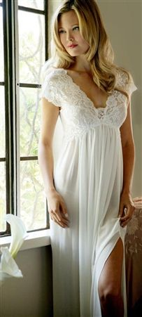 Jonquil Hope Bridal Nightgown    I'm an old bride, but I would love to wear this.  And my old groom would probably love me to wear it too!