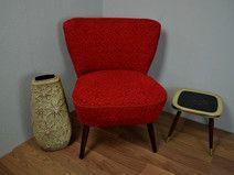 Vintage Sessel Cocktailsessel Rot 60er Cocktailsessel Vintage Sessel Sessel Rot