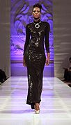 Tyrell Collection défilé couture NYC #lasemainedelamode #robe #femme #automnehiver2013 #mode #tyrellcollection