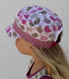 Foto zu Schnittmuster Lausbuben-Mütze von selbermacher123, lässt sich super nähen und sieht total stylisch aus